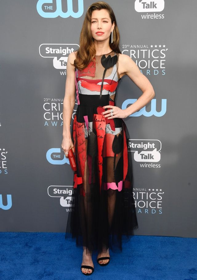 bc1a9322fb4 All the Colorful Red Carpet Looks From the 2018 Critics  Choice Awards