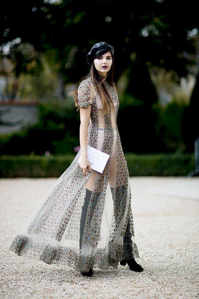 de73c0729 Fashion Girl Ways to Wear Sheer Dresses IRL