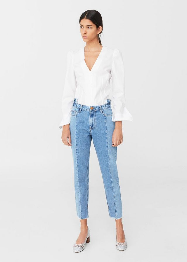 f2e0c1efd73a ... hem jeans out there that don t come with a pricey designer price tag.  Read on for 13 pairs of frayed hem jeans to add to your denim wardrobe  right now.