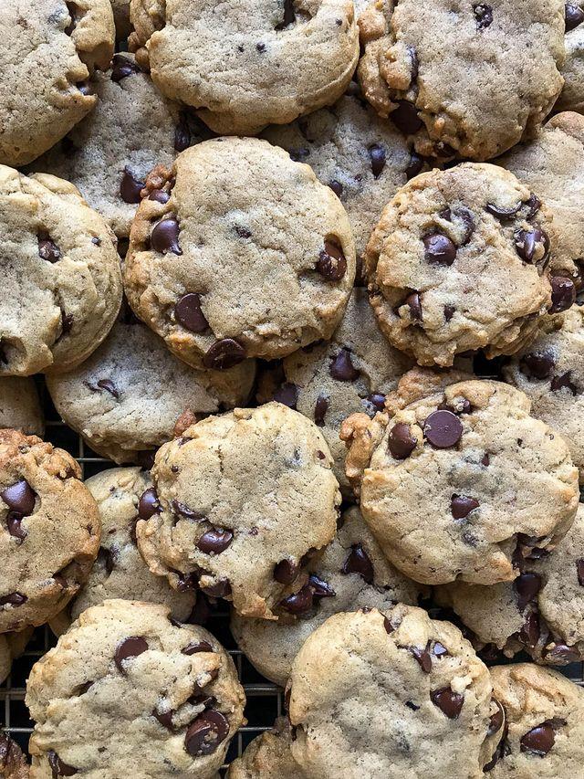 Tahini Chocolate Chip Cookies | Chez Us | Bloglovin'