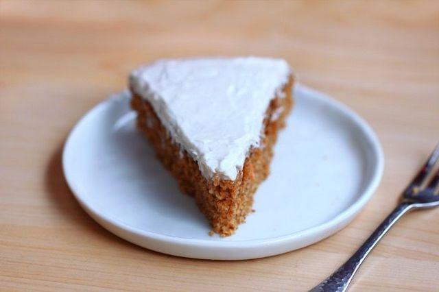 Healthy Spelt Carrot Cake