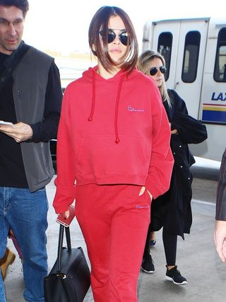 43d956190e0a8 Selena Gomez Just Wore the Next It-Girl Brand in Paris