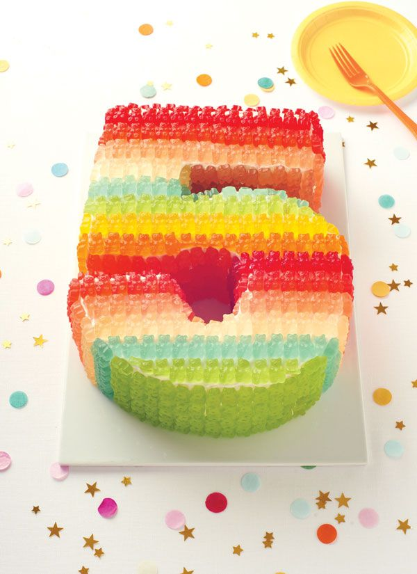 Can You Bake Gummy Candy Into A Cake