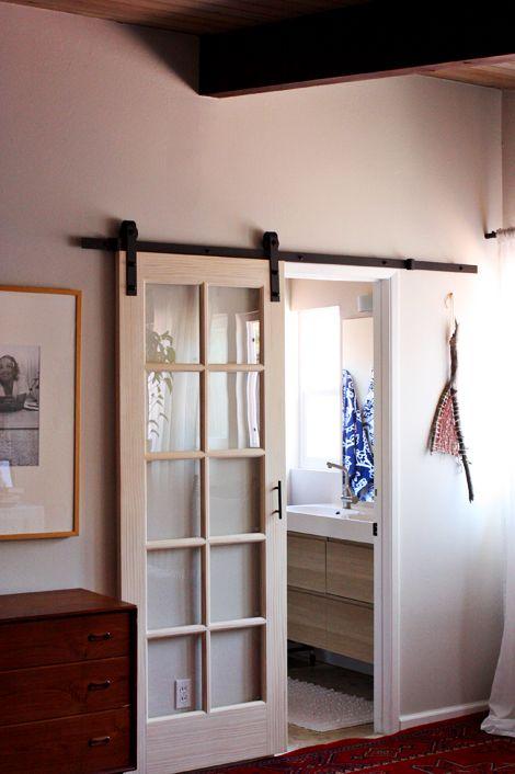 External Sliding Door In The Master Bedroom Elise Blaha Enjoy It Bloglovin