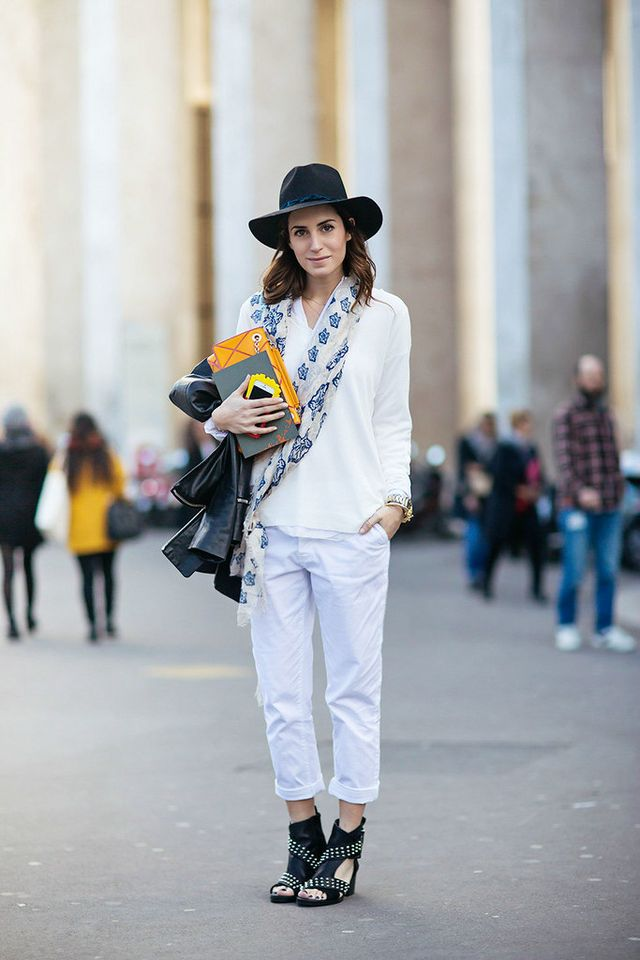Look of the Day.2   Outside Zadig Voltaire PFW  f16a1c5bb0c