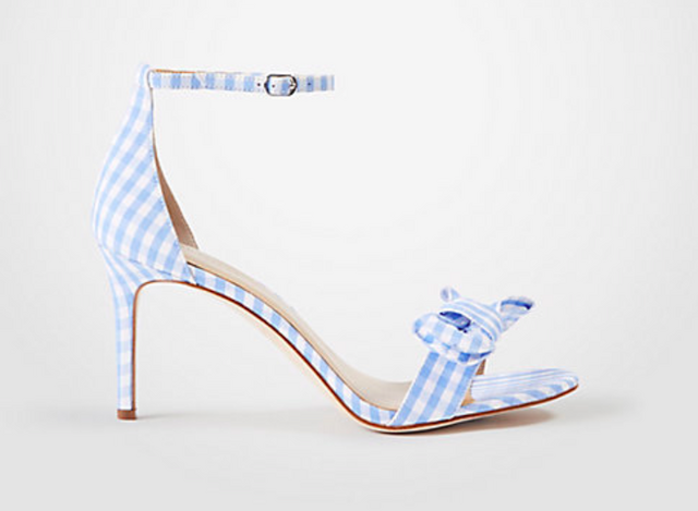 cc1812e6eea There is nothing that says summer like gingham so how about a pair of  Gingham Bow Heeled Sandals. Save 40% off with the code SWEETTREAT.