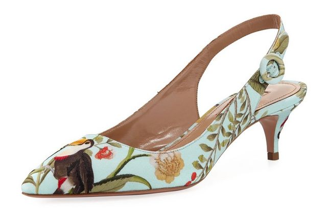 3aa2602bc20 Aquazzura for de Gournay Collection: Part Deux   Habitually Chic ...