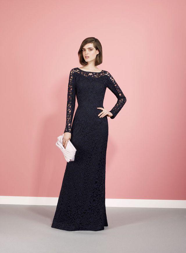 Encájate con un tejido clásico: 13 vestidos de encaje para bodas de ...