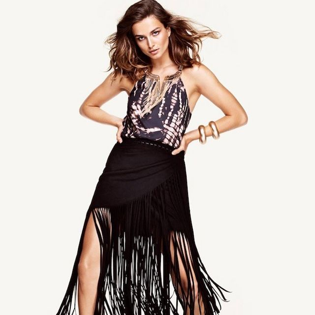 1fdc4d6ad Si tienes un día bohemio y no sabes cómo vestirlo, piensa en H&M ...