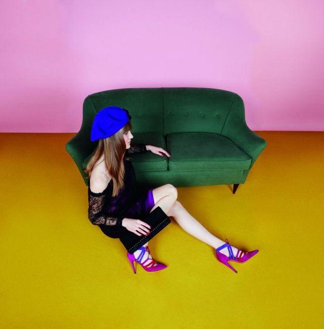 Los zapatos de Úrsula Mascaró nos auguran un invierno lleno de color ...