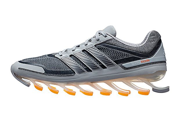 fdb42be2c832 adidas has unveiled this Heather Collection for its explosive adidas  Springblade silhouette. Featuring a reworked heathered mesh