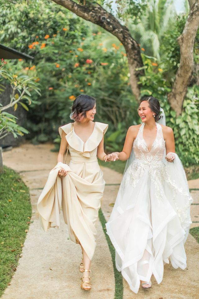 Vlog My Bestfriend S Wedding Gowns Designed By Me Camille Tries