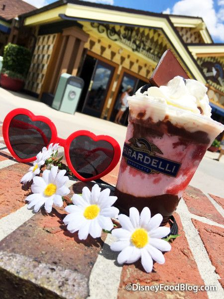 35b31420cd8e8 Just when you think an ice cream sundae from Ghirardelli Ice Cream and  Chocolate Shop can't get any better, the clever minds behind Disney  Springs' iconic ...