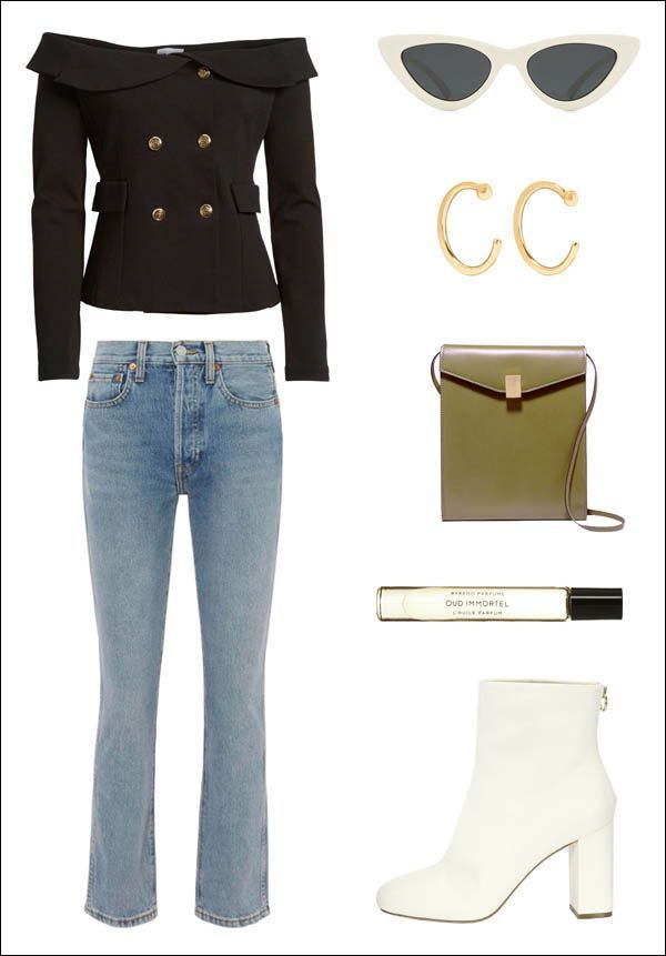 How to Style an Off-the-Shoulder-Blazer  cfaa68f0bd730