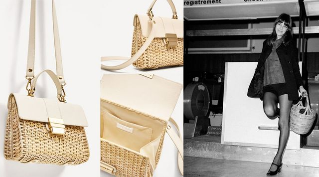 The Straw Bag Especially In Maxi Version Is A Classic For Summer Bucket Shoulder Or Hand One Going To Be On Trend Next Spring 2017