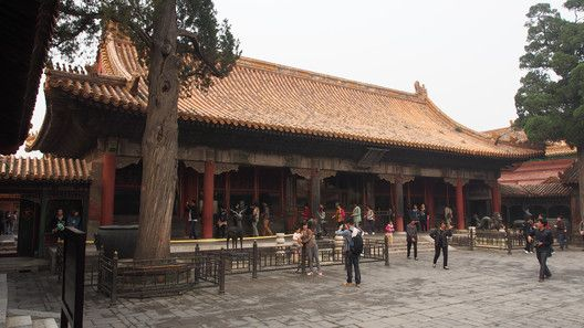 A Pavilion In The Six Western Palaces One Of Sections Forbidden City Built For Qing Emperor Kangxi ImageCourtesy Wikimedia User Clay