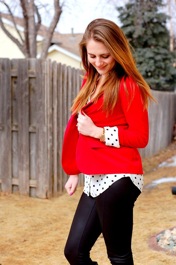 8f8155ab966e9a Chic of the Week: Darcy's Faux Leather Leggings Look | Lauren Conrad ...