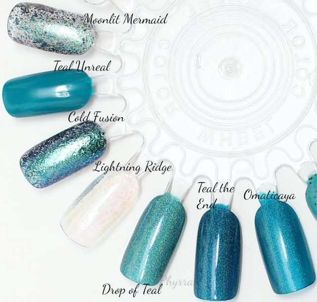 L B K Nail Lacquers Are Unique And Beautiful Giveaway: Teal Thursday Teal Nail Polish