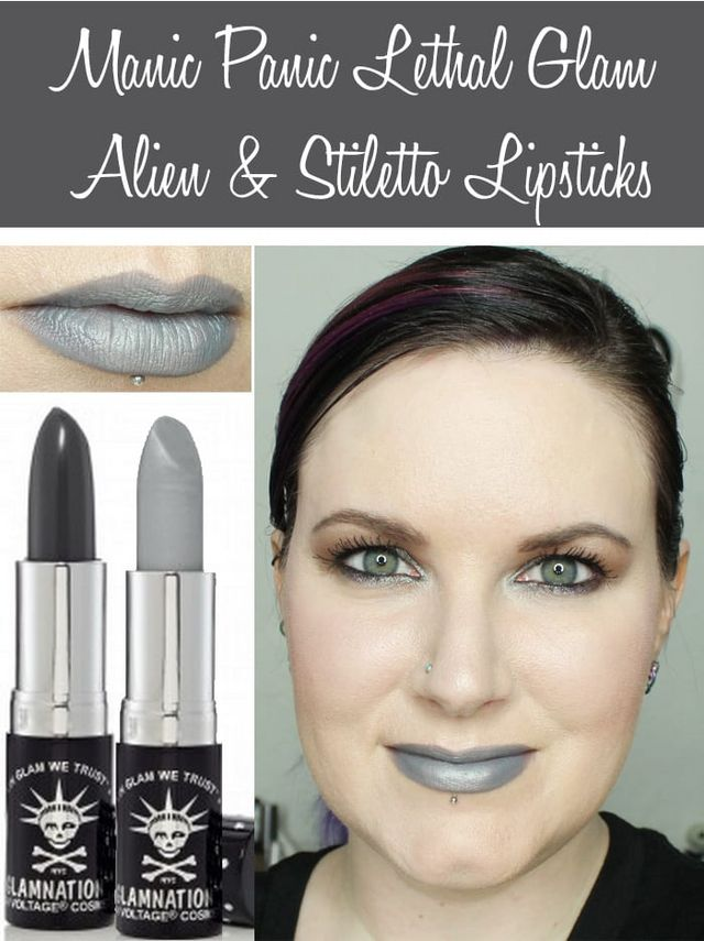 Lethal Lipstick Goth Glam Rock New by manic panic #6