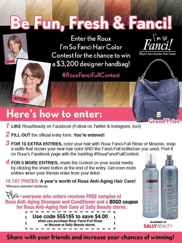 Roux Fanci Full Temporary Hair Color Rinse Phyrra Bloglovin