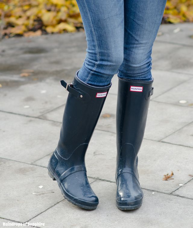 My Hunter Wellies/Rain Boots Collection   Raindrops of Sapphire ...