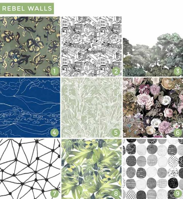 a970a0b1fa3ce Each pattern is designed after hand painted pieces which means your room  will look as if the most skilled artisan came in and transformed your room.