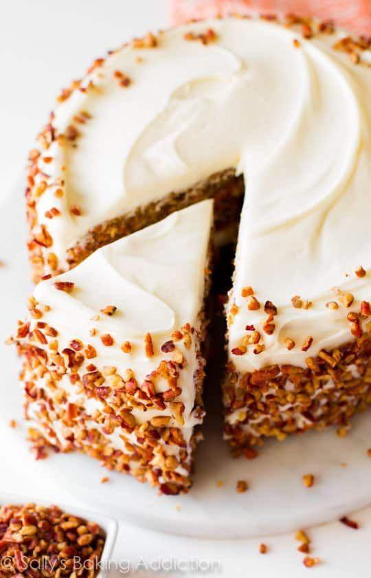 Sally S Baking Addiction Pineapple Carrot Cake