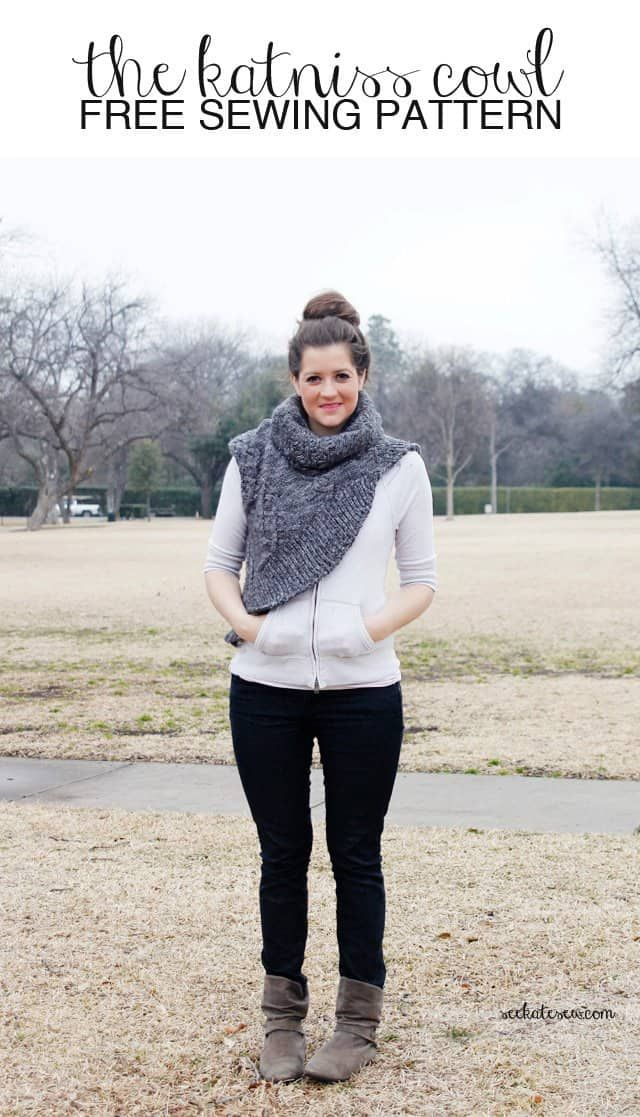 The Katniss Cowl Sewing Pattern Free See Kate Sew Bloglovin