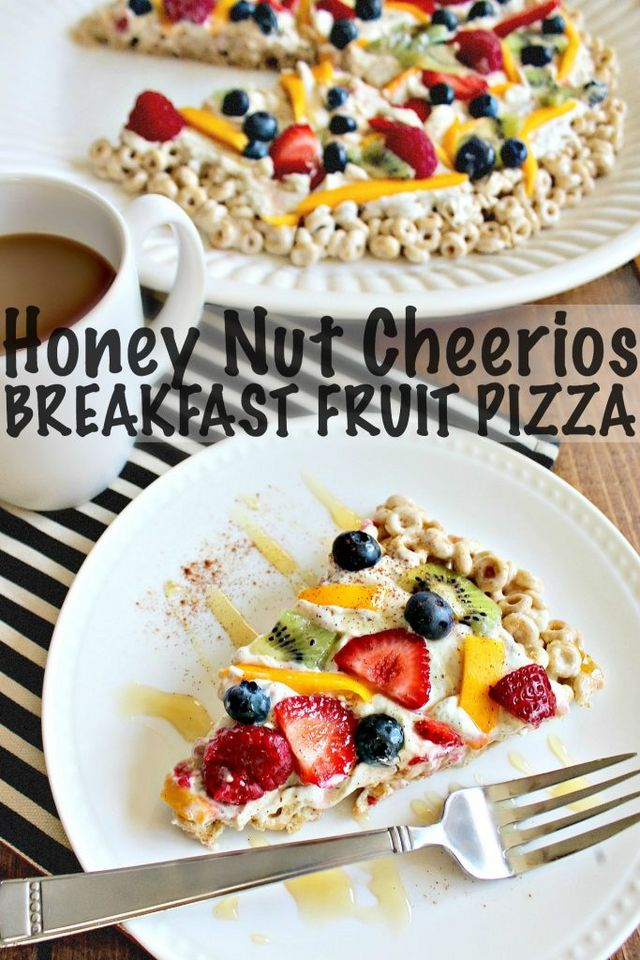 Honey nut cheerios breakfast fruit pizza simply taralynn in honor of national whole grain month im teaming up with general mills to bring you guys a delicious honey nut cheerios breakfast fruit pizza recipe ccuart Choice Image