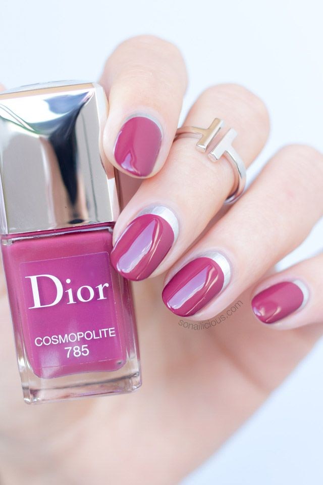 Ruffian manicure plus 8 more nail art ideas with dior if you wish to re create this manicure this ruffian nails tutorial from the book will be very handy prinsesfo Images