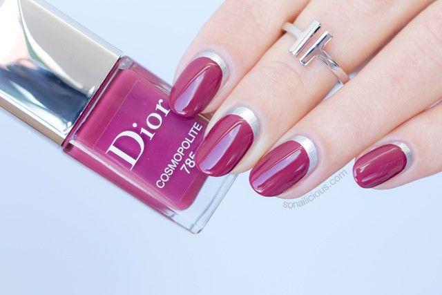 Ruffian Manicure Plus 8 More Nail Art Ideas With Dior Cosmopolite