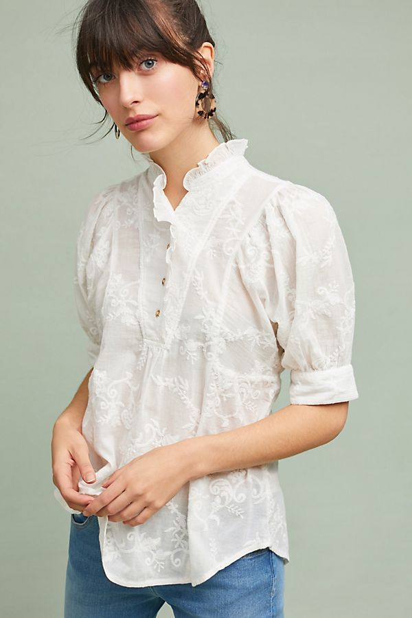 Brecon Textured Blouse ($98)