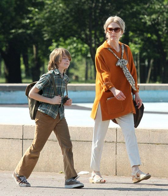 "Julianne Moore on the Set of ""Wonderstruck"" 