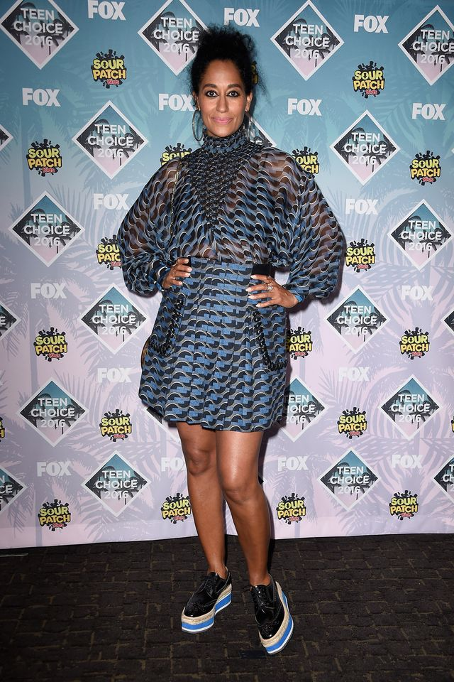 IN or OUT: Tracee Ellis Ross in Fendi at the Teen Choice