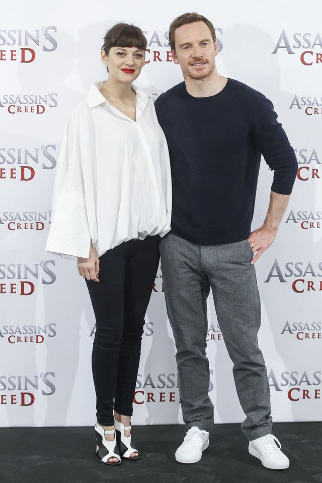 Marion Cotillard and Michael Fassbender Take it Down a Notch at the ...