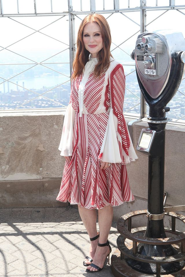 Julianne Moore Lights The Empire State Building To Honor
