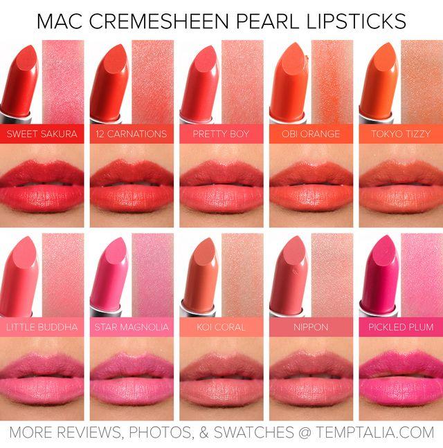 Sneak Peek: MAC Cremesheen Pearl Lipsticks Photos