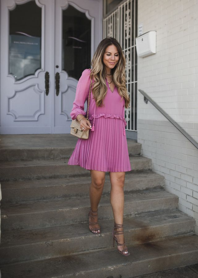 87706670433 Pink Party Dress