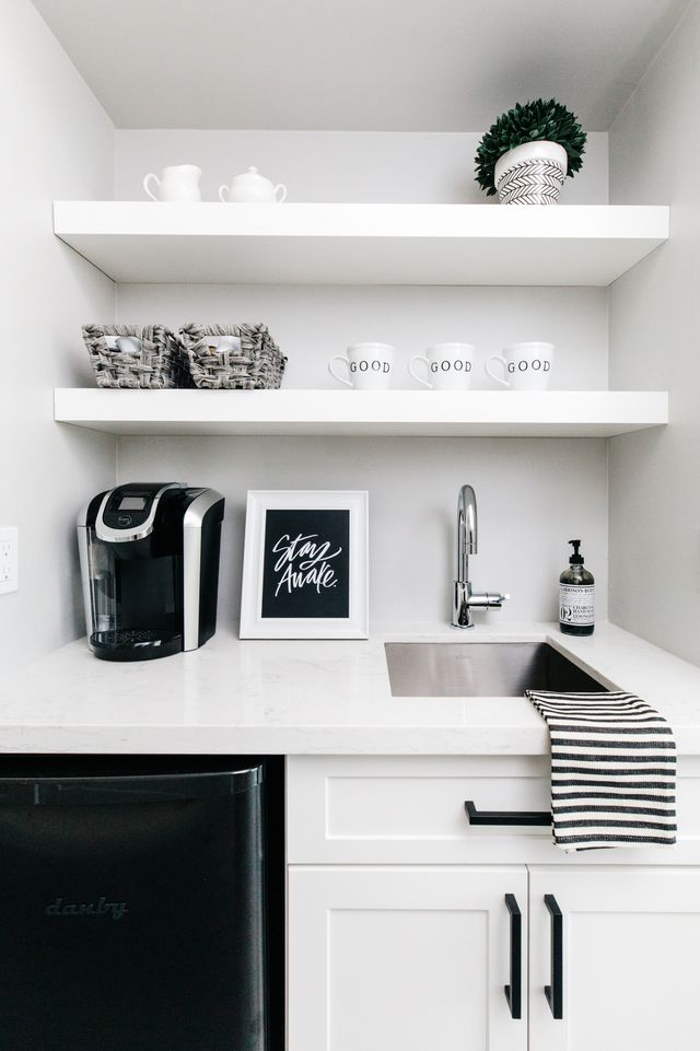 Our House Reveal: Master Bedroom Coffee Bar | The TomKat ...