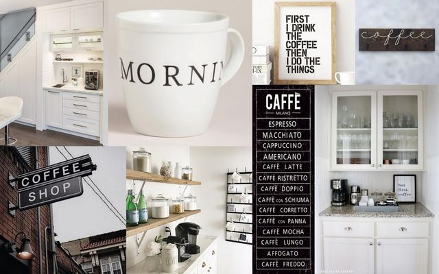 Our House Reveal: Master Bedroom Coffee Bar | The TomKat Studio ...
