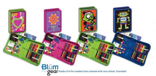 Blum School Gear: K-4 All-In-One School Supply Kit Giveaway