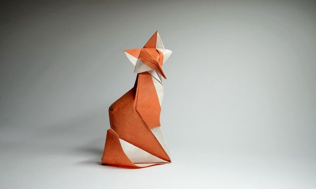Origami Artist Creates Charming Animals with Unique Wet Folding ... | 384x640