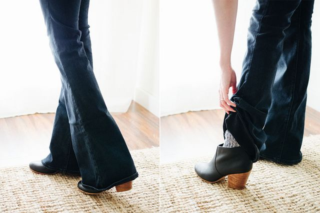 2ecce3d5a48 How to wear ankle booties with jeans   part II  socks!