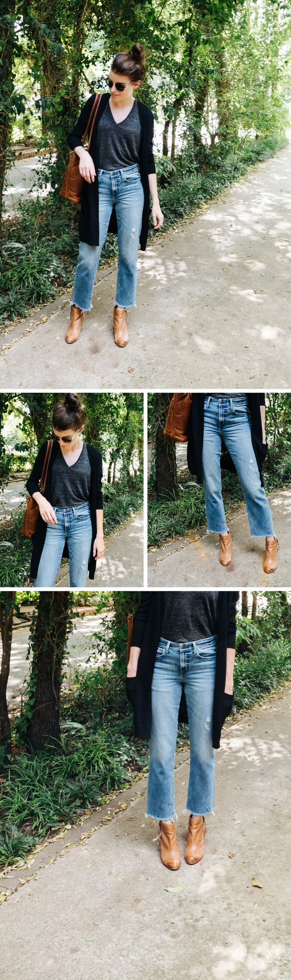 a196eaaf0f8f SOURCES: Tee by Everlane (old, similar) / Cardigan by Nordstrom / Bag  gifted by ONA / Shoes by Sam Edelman (old, similar) / Sunnies by Madewell /  Denim ...