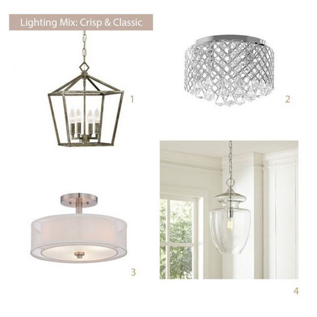 Light Fixtures That Work Together Without Being Boring | Young ...