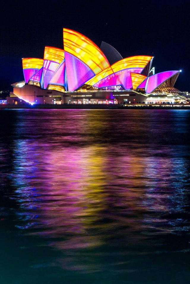 It truly is spectacular and the drawcard for the Vivid Festival. Other  great viewing places for the Opera House are in front of Campbell's Cove on  the other ...