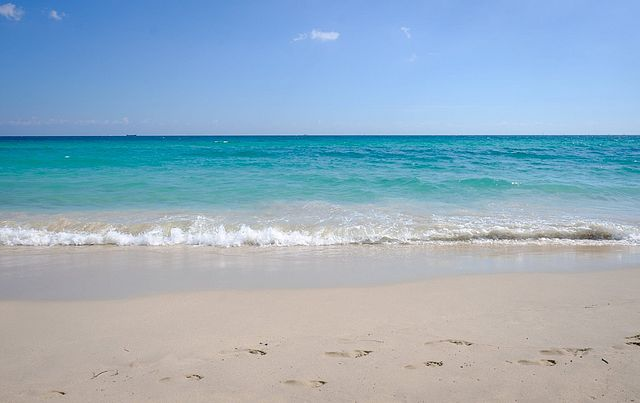 Kess InHouse NL Designs Mercury Blue Navy Round Beach Towel Blanket