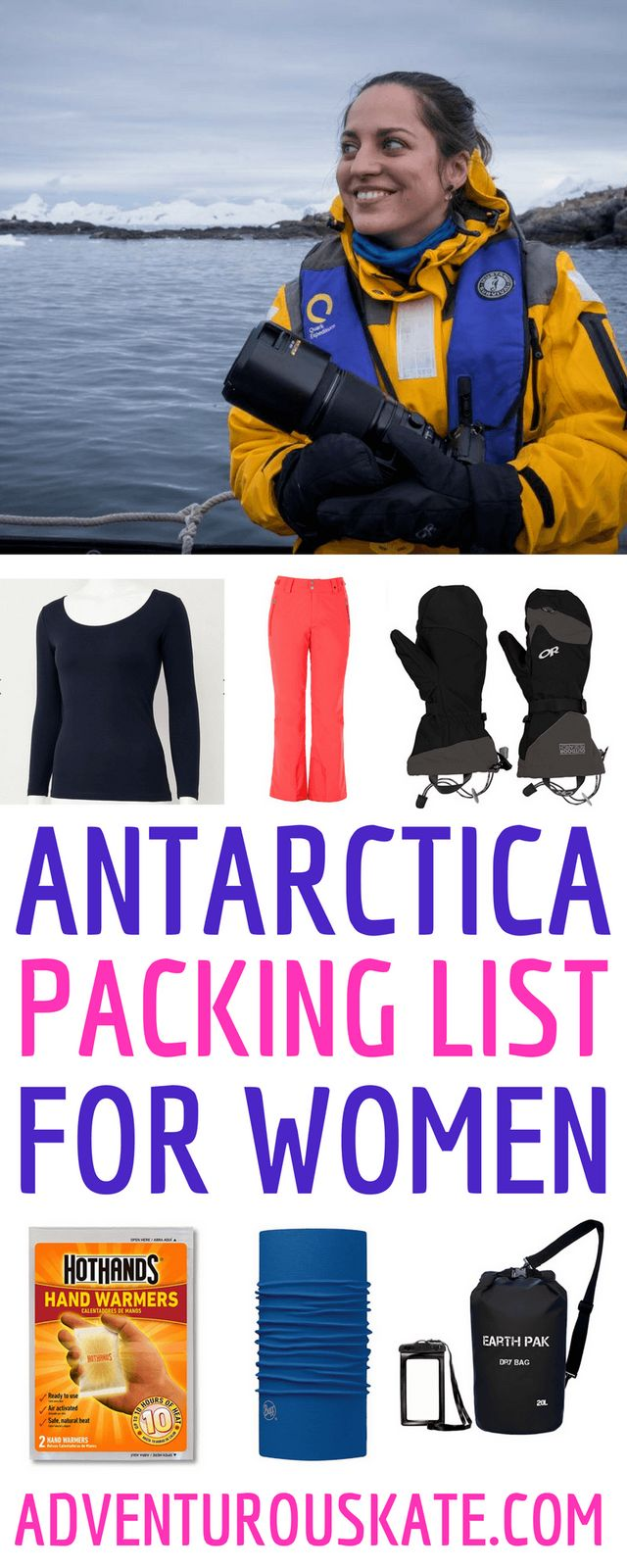 c7a32048b69 What to Wear in Antarctica  Packing List for Women