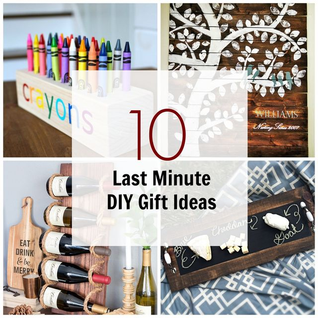 10 Last Minute Diy Wood Gifts That You Can Make Ana