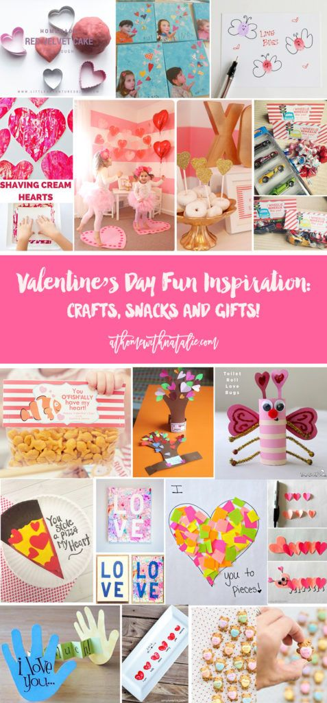 Valentine\'s Day Craft, Snack and Gift Inspiration! | At Home With ...